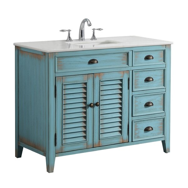 Foret 42 Single Bathroom Vanity Set by Lark Manor