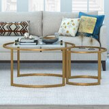Rose Gold Coffee Table Set Wayfair