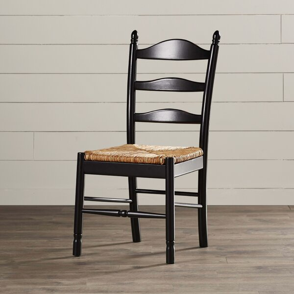 Fresh Emilia Solid Wood Dining Chair By August Grove 2019 Sale