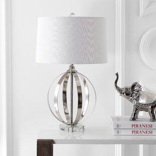Best Price Steffey Metal Orb 26 Table Lamp By Orren Ellis