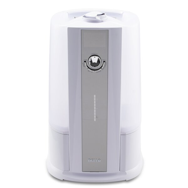 Cool and Warm 2.11 Gal. Ultrasonic Tabletop Humidifier by Della