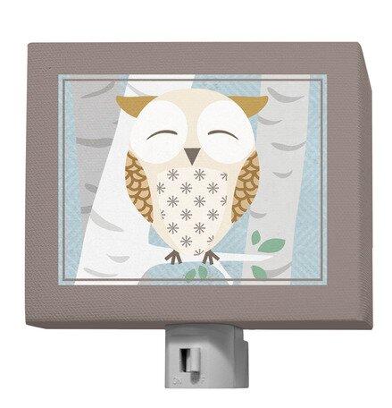 Birchwood Owl Night Light by Oopsy Daisy