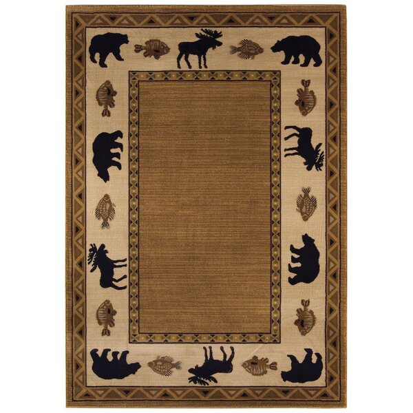 Cottage Grove Medium Brown Novelty Rug by Capel Rugs