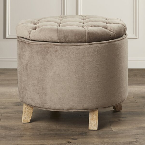 Compson Storage Ottoman by House of Hampton