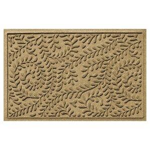 Aqua Gretchen Boxwood Doormat