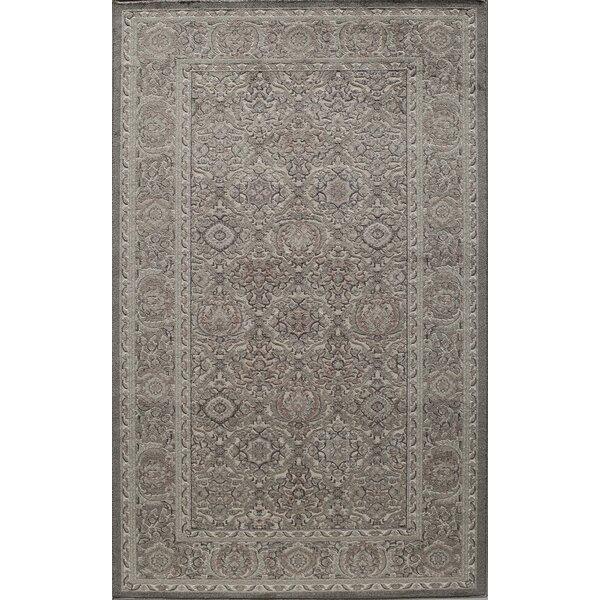 Sheldon Gray Area Rug by Threadbind