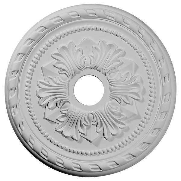 Palmetto 20 7/8H x 20 7/8W x 1 5/8D Ceiling Medallion by Ekena Millwork