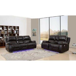 Apollos 2 Piece Reclining Living Room Set by Red Barrel Studio®