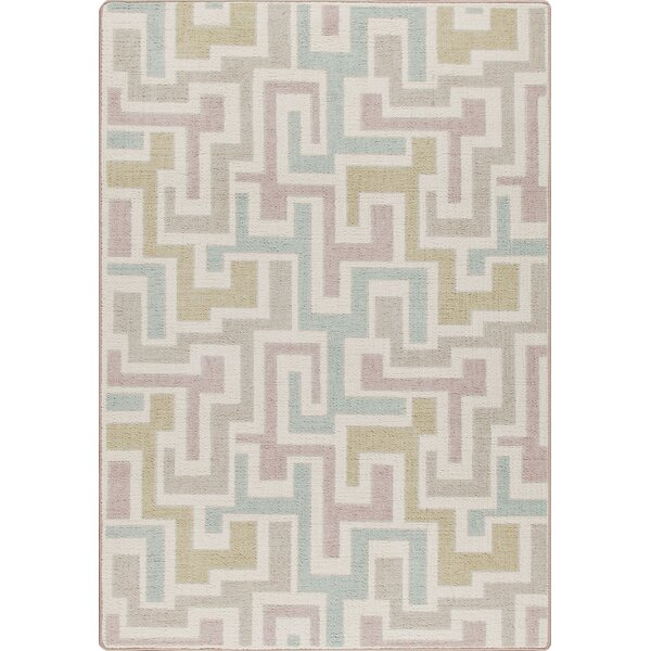 Mix and Mingle Pastel Junctions Rug by Milliken