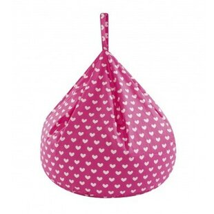 Pink Hearts Bean Bag Chair ...  sc 1 th 225 & Pink Hearts Bean Bag Chair By Churchfield Sofa Bed   Shop Reviews