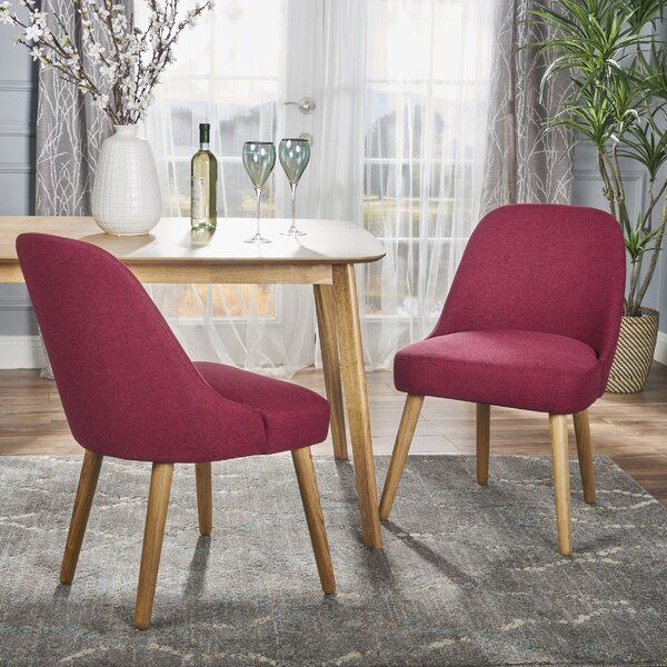 Bowyer Upholstered Dining Chair (Set of 2) by Ivy Bronx