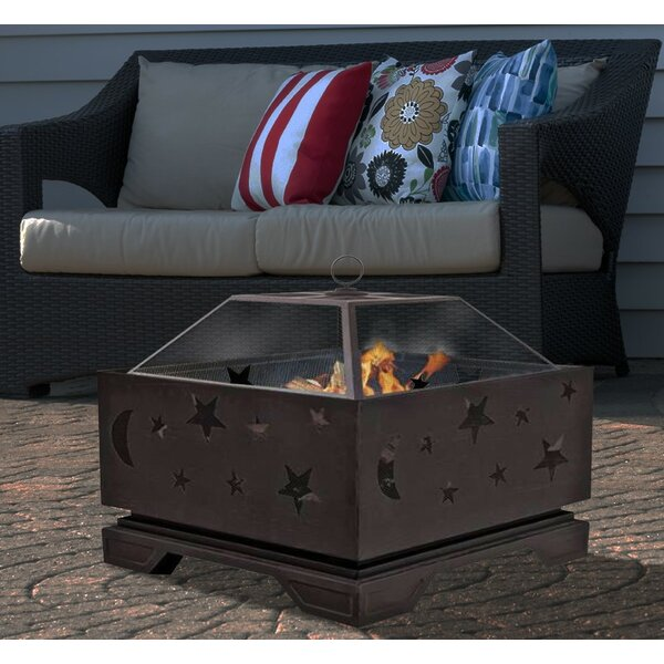 Stargazer Steel Fire Pit by Centurion Brands