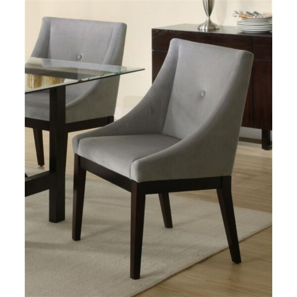 Scottie Upholstery Dining Chair by Ivy Bronx