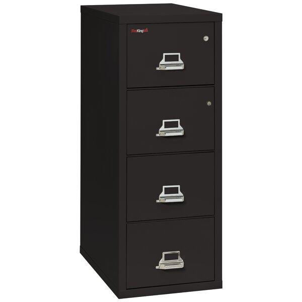 Legal Safe-In-A-File Fireproof 4-Drawer Vertical File Cabinet