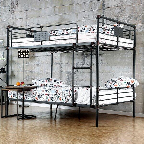 Garlington Full over Full Bunk Bed by Harriet Bee