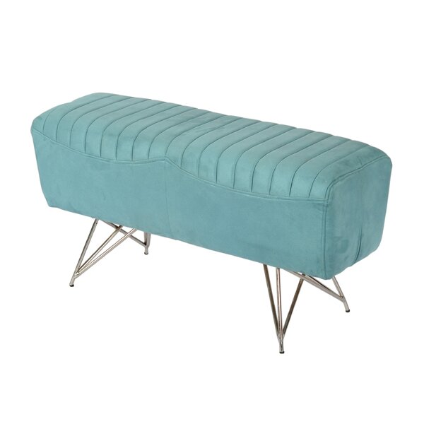 Longley Upholstered Bedroom Bench by Everly Quinn Everly Quinn