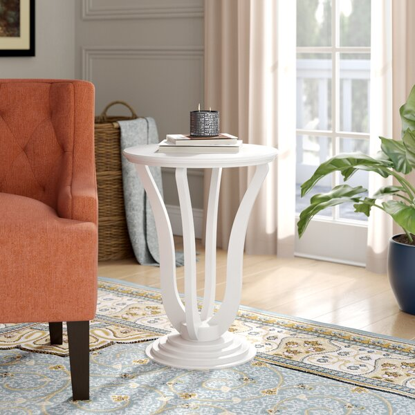 Williamsfield Floor Shelf End Table By Charlton Home