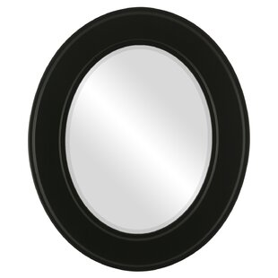 Charlton Home Wirksworth Framed Oval Accent Mirror