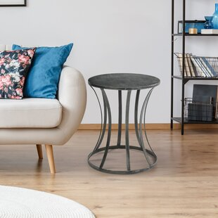 Kyleigh Tin End Table
