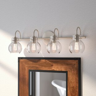 Compare prices Poppy 4-Light Vanity Light By Trent Austin Design