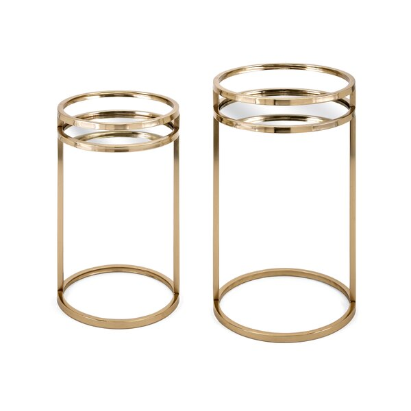 Review Bartlet 2 Piece Nesting Tables
