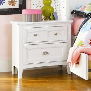 Sully 2 Drawer Nightstand by Viv + Rae