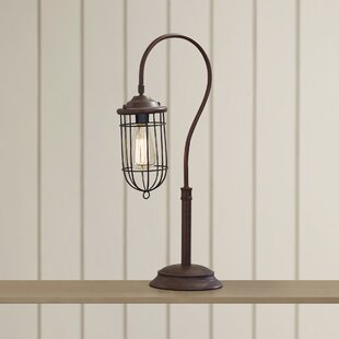 Compare prices Samsula 24 Arched Table Lamp By Beachcrest Home