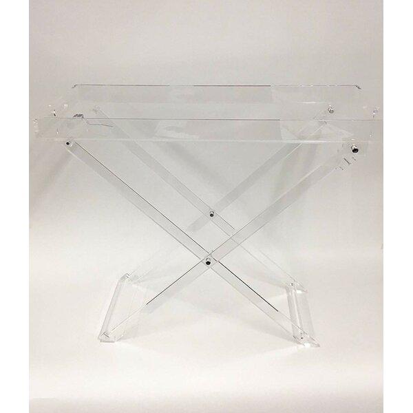 Larkin Plastic Foldable Tray Table by Orren Ellis