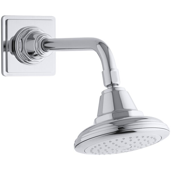 Pinstripe 2.5 GPM Single-Function Wall-Mount Shower Head Katalyst Air-Induction Spray By Kohler