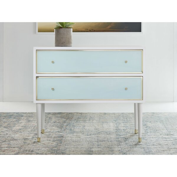 2 Drawer Dresser By Modern History Home by Modern History Home Great price