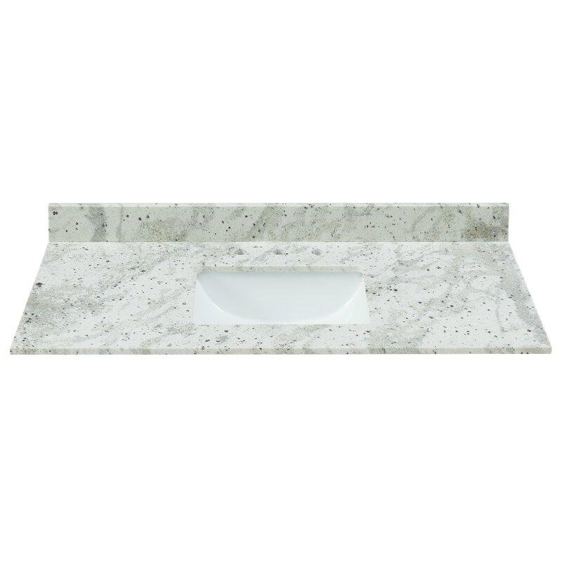 Tile Top Granite 43 Single Bathroom Vanity Top Reviews Wayfair