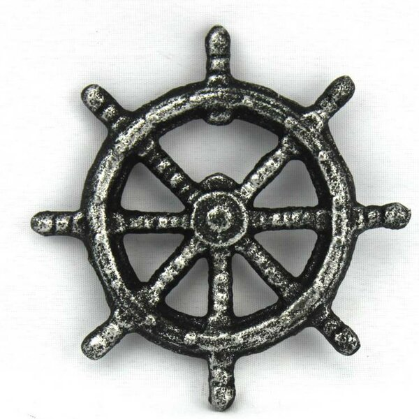 Ship Wheel Bottle Opener by Handcrafted Nautical Decor