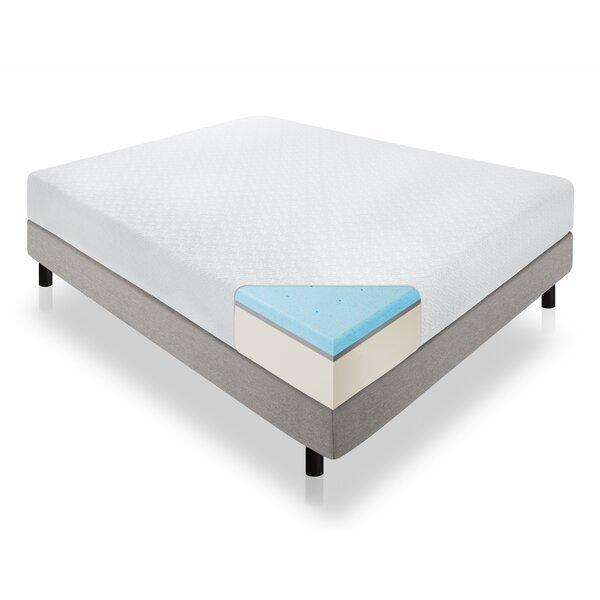 12 inch Plush Gel Memory Foam Mattress by Wayfair Sleep™