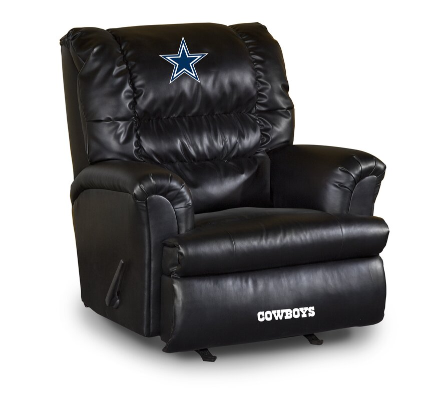 NFL Leather Manual Recliner  sc 1 st  Wayfair & Imperial NFL Leather Manual Recliner u0026 Reviews | Wayfair islam-shia.org
