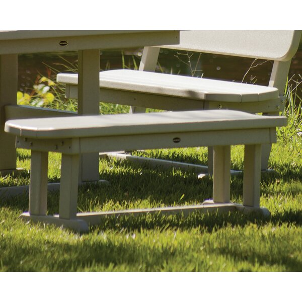 Park Plastic Picnic Bench by POLYWOOD®
