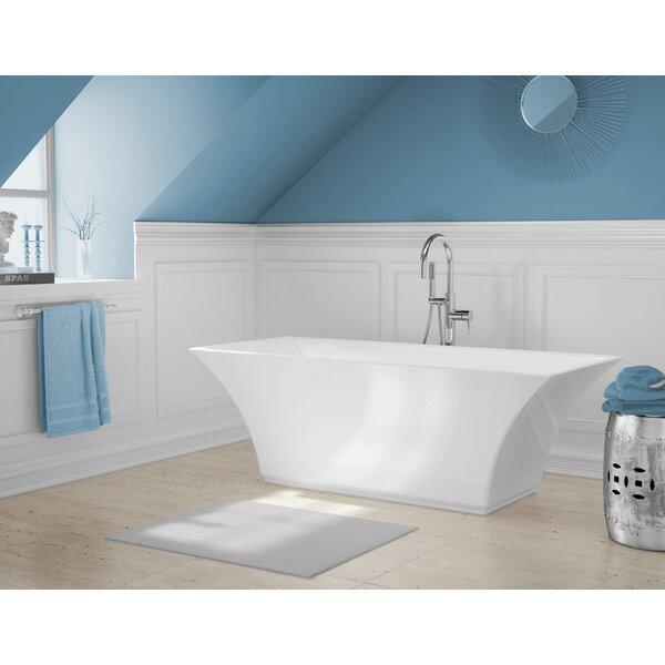 Abzu 69 x 32 Freestanding Soaking Bathtub by A&E Bath and Shower