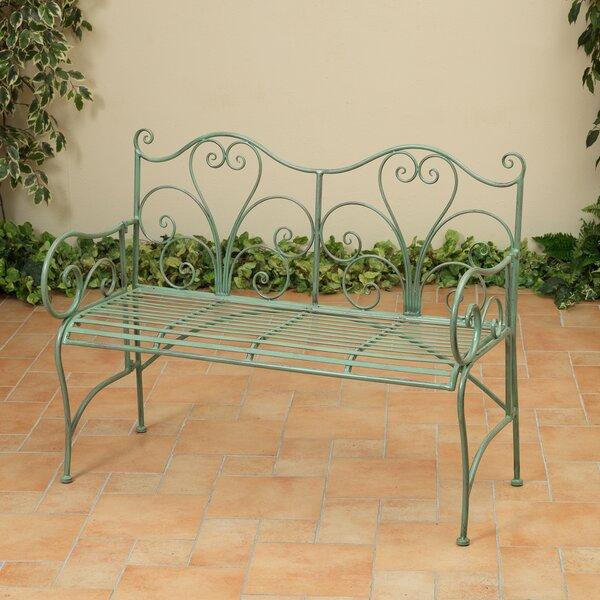 Curlee Iron Garden Bench