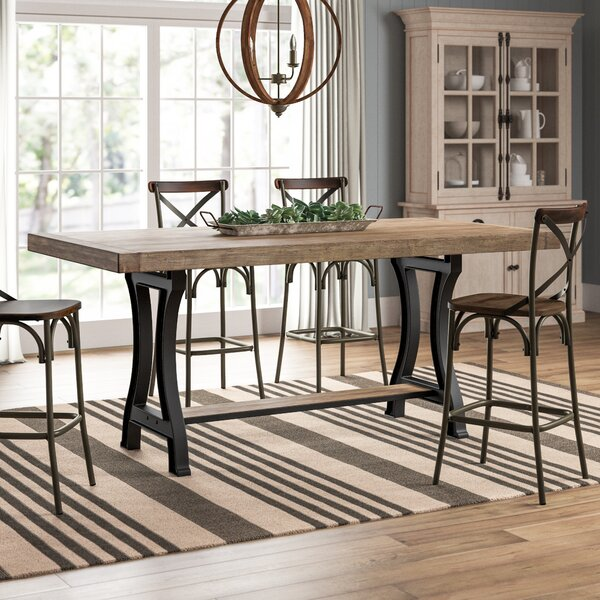 Fort Oglethorpe Dining Table by Laurel Foundry Modern Farmhouse