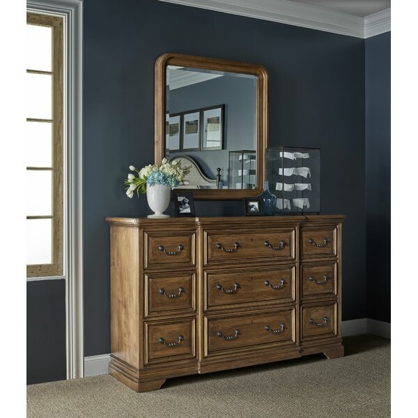 9 Drawer Standard Dresser/Chest with Mirror by Universal Furniture