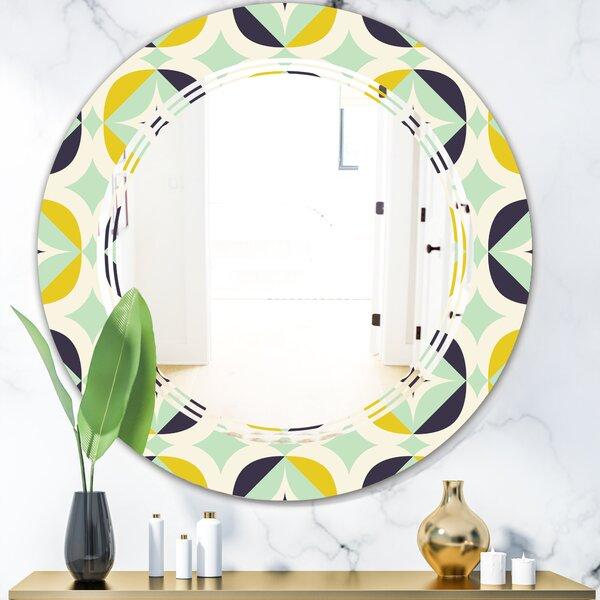 Triple C Diamond V Modern Wall Mirror