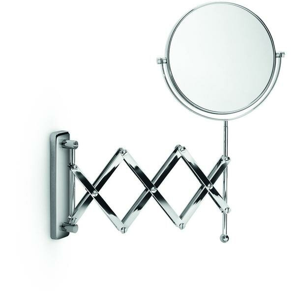 Huneycutt Double-Sided Extendable Makeup/Shaving Mirror by Alcott Hill