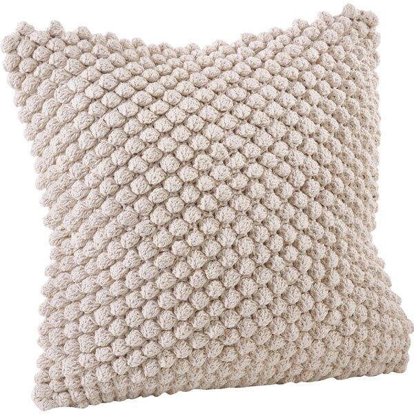 Camargue Cotton Throw Pillow by Saro