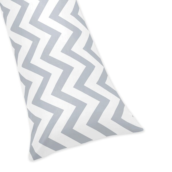 Chevron Body Pillow Case by Sweet Jojo Designs