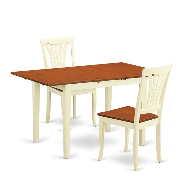 Soriano Solid Wood Dining Set by Charlton Home Charlton Home