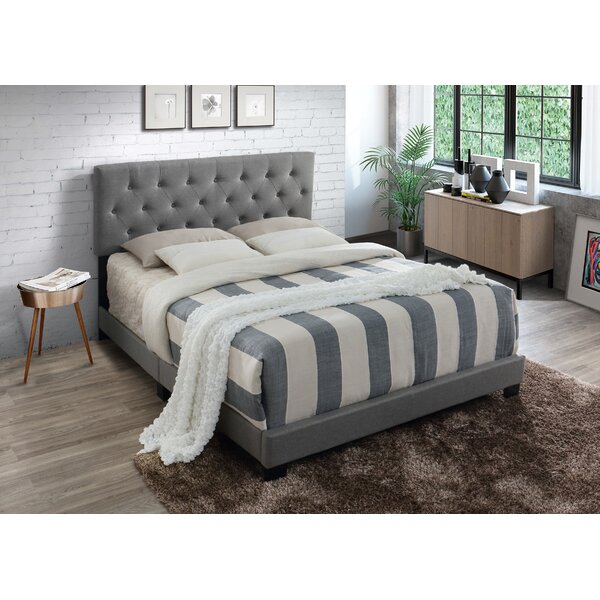 Aliyah Upholstered Bed by Alcott Hill