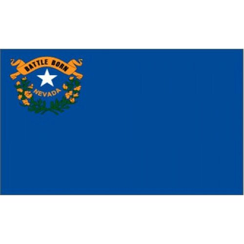 Nevada Traditional Flag by NeoPlex