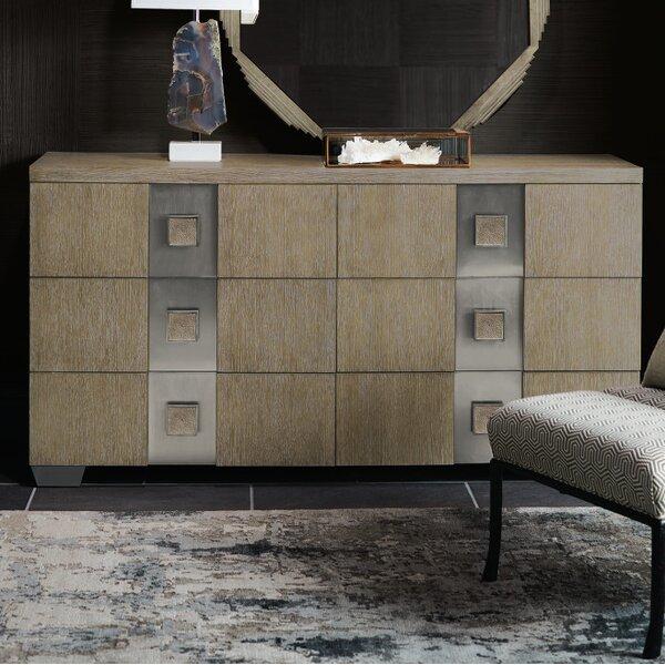 Mosaic 6 Drawer Double Dresser by Bernhardt