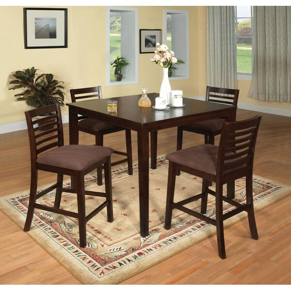 Elkins Park 5 Piece Dining Set by Red Barrel Studio