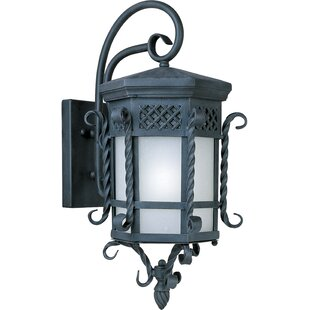 Cutlerville 1-Light Outdoor Wall Lantern By Astoria Grand Outdoor Lighting