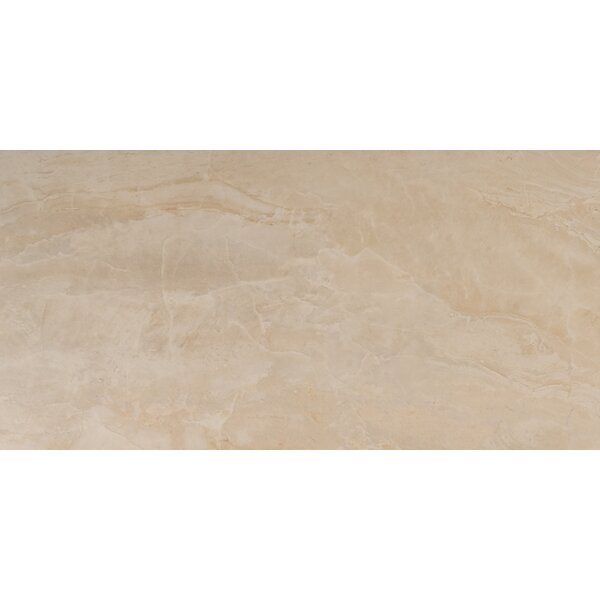 Onyx 12 x 24 Porcelain Field Tile in Beige by MSI